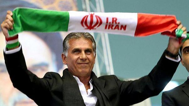 """Carlos Queiroz e os """"Ronaldos"""" do Irão"""