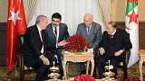 Cumhurbaşkanı Erdoğan Cezayir'de