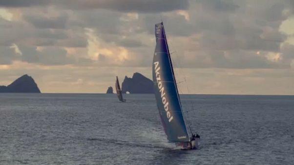 Volvo Ocean Race: izgalmas befutó a 6. szakaszon