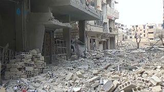 População de Ghouta continua à espera de ajuda