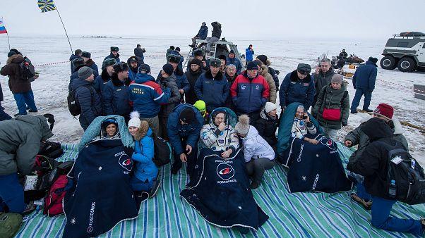 Il rientro degli astronauti dalla Iss