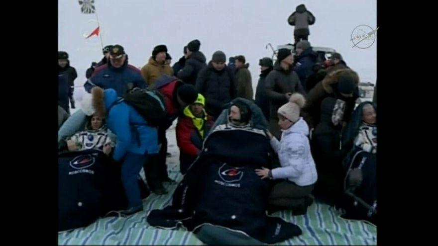 Mission réussie sur l'ISS : retour du vaisseau Soyouz sur Terre