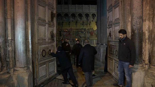 Gerusalemme, riapre il Santo sepolcro