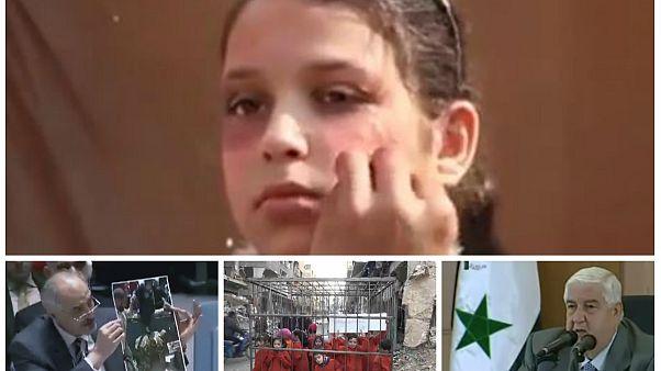 """القوات السورية تقصف الغوطة بالصواريخ و""""الأخبار المفبركة"""""""