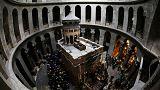 Újranyitották a jeruzsálemi Szent Sír-bazilikát