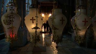 Храм Гроба Господня снова открыт