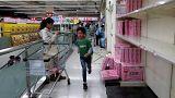 Panic buying 'toilet paper frenzy' in Taiwan