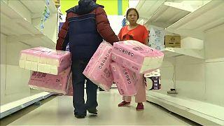 Ruée sur le papier toilette à Taïwan