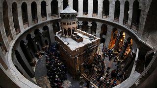 Grabeskirche in Jerusalem nach drei Tagen wieder offen