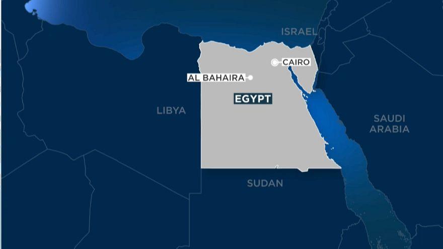 مقتل 15 على الأقل في حادث تصادم قطاري ركاب في محافظة البحيرة في مصر