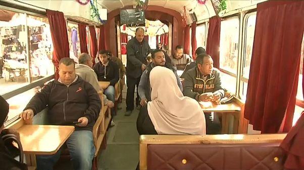 Le légendaire tramway d'Alexandrie prend de l'allure