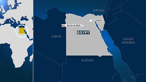 At least 15 killed in Egypt train crash