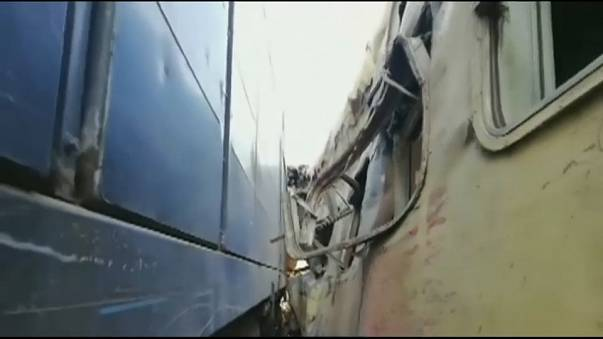 Enésimo accidente en la obsoleta red ferroviaria de Egipto