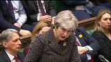 """May considera """"una amenaza"""" el borrador del brexit de la Comisión"""