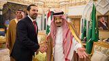 Saudi King Salman welcomes Lebanese Prime Minister Saad al-Hariri