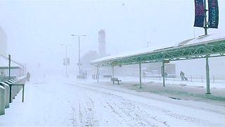 Aumenta o número de vítimas devido à vaga de frio