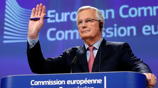 """Michel Barnier, negociador jefe de la UE para el """"brexit"""""""