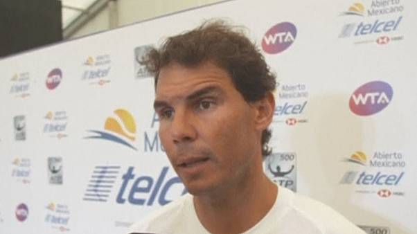 Rafael Nadal pulls out of Mexican Open