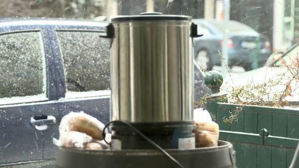 Sibirya soğuklarına karşı sıcak çay