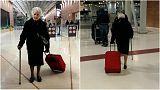 93 éves nagymama állt önkéntesnek a kenyai árvaházban