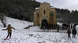 Maltempo: Burian è arrivato anche in Spagna