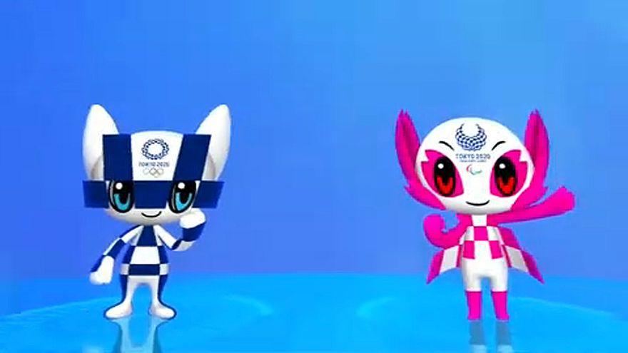 Olimpia 2020: Futurisztikus kabalafigurák