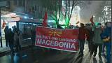Macedonia in piazza contro il cambio del nome