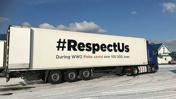 Polish #RespectUs campaign sends trucks across Europe to spread message on Nazi crimes
