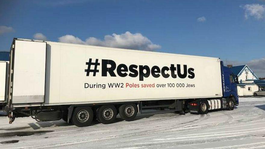 Polish #RespectUs campaign sends trucks across Europe to spread message on Nazi crimes