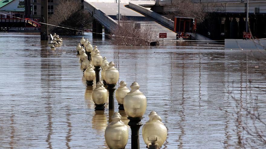 Inondations dans l'Indiana et l'Ohio