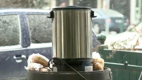 Ουγγαρία: Ζεστό τσάι για τους άστεγους