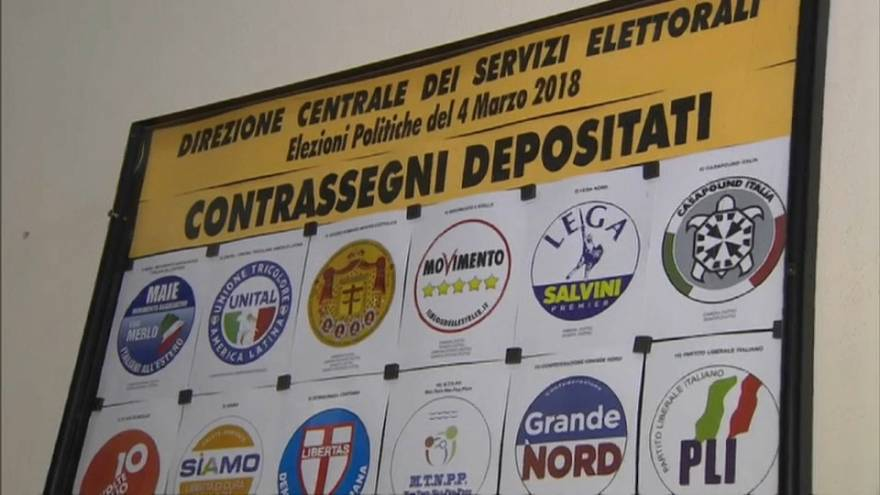 Polling stations prepare for Italy's general election