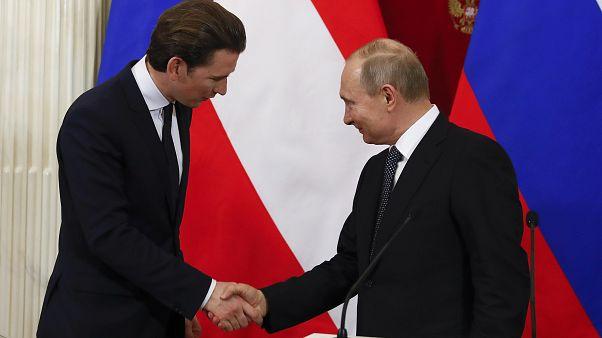Moskau: Putin und Kurz betonen gute Zusammenarbeit