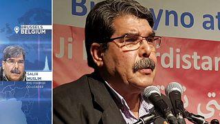 Ex-leader del Partito di Unione democratica curdo parla ai microfoni di Euronews