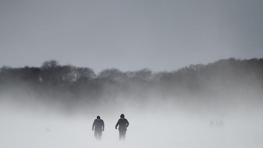 سرمای سیبری در اروپا
