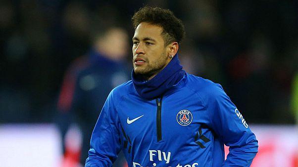 Football: Paris Saint Germain striker Neymar to miss games for '6 to 8 weeks'