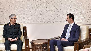 General Mohammad Baqeri meets Syrian President Bashar al-Assad in Damascus