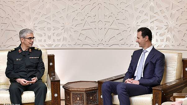 General Mohammad Baqeri meets Syrian President Bashar al-Assad in Damascus