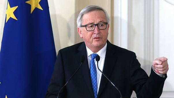 Juncker első koszovói látogatása