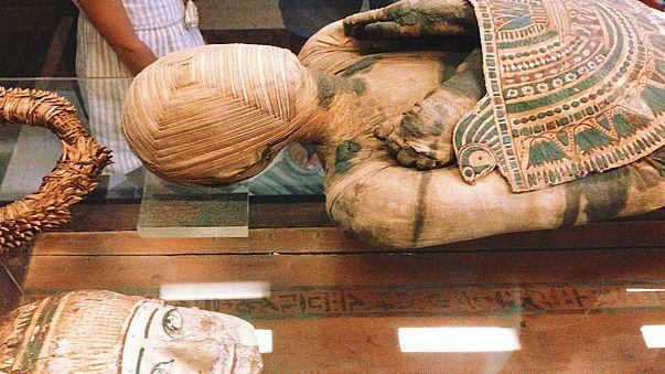اكتشاف وشم على زوج مومياء مصرية تعودان إلى 5 آلاف سنة قبل الميلاد