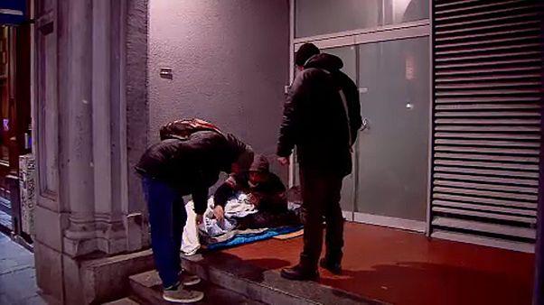 Éjjeli őrjárat Brüsszel utcáin