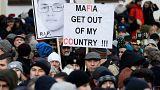 Tüntetések és gyász Szlovákiában