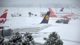 Cointrin airport in Geneva