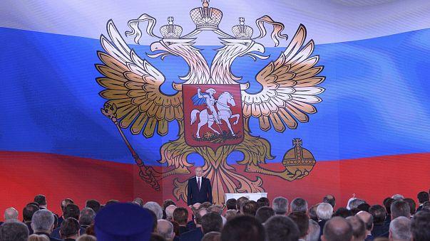"""Putin presenta un misil """"invencible"""" en su discurso sobre el Estado de la Nación"""