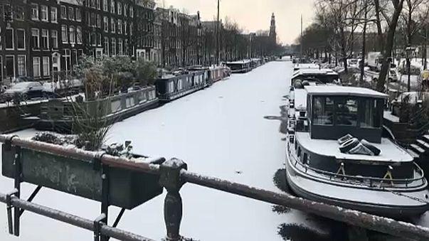 Még mindig a hidegtől szenved Európa