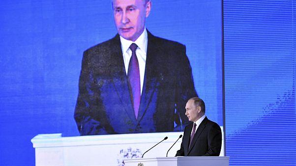 Putin: Russland hat Atomwaffen entwickelt, die kein anderes Land abfangen kann (Reuters)