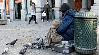 """Sem-abrigo de Bruxelas têm a ajuda do """"esquadrão Herscham"""""""