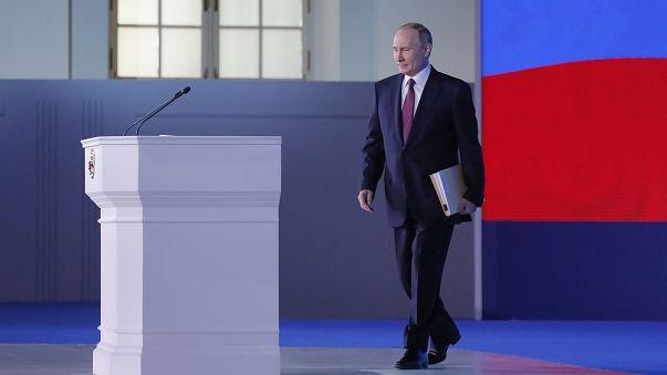Vladimir Putin apresenta o novo 'supermíssil' da Rússia