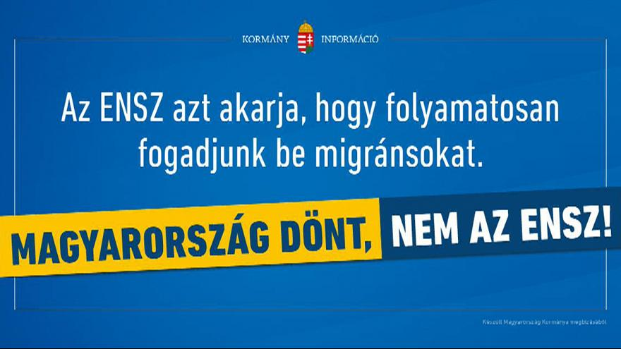 Az ENSZ határozata ellen indít kampányt a magyar kormány
