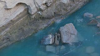 Le canal de Corinthe fermé temporairement